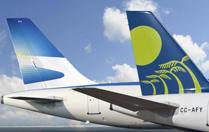 Aerolineas Argentinas y Sky Airline se unen en alianza comercial.